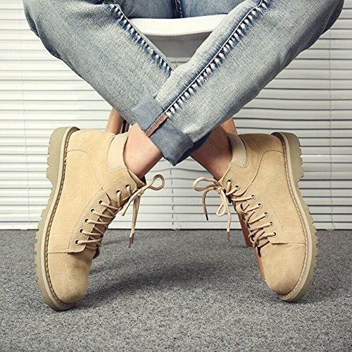 Men's 01 Size 5 Warm Martin Fashion Color UK8 Winter Boots CN43 Help Feifei Shoes EU42 High TxPPw6r