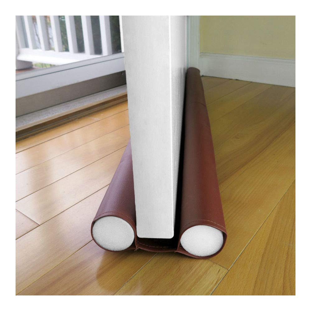 36'' Jumbo Double Door Draft Stopper, Energy Saving Draft Seal by Unknown