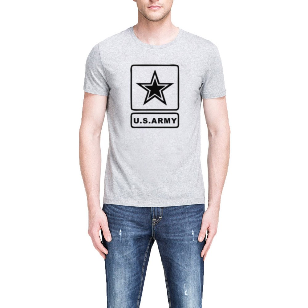 Loo Show S U S Army With Star Casual T Shirts Tee