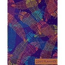 2019 Planner: Monthly Schedule Organizer - Agenda Planner 2019, 12Months Calendar, Appointment Notebook, Monthly Planner, To Do List