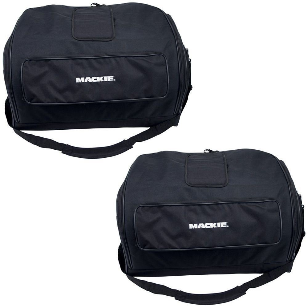 (2) Brand New Mackie Travel Speaker Bags Soft for SRM450-V2 or C300Z