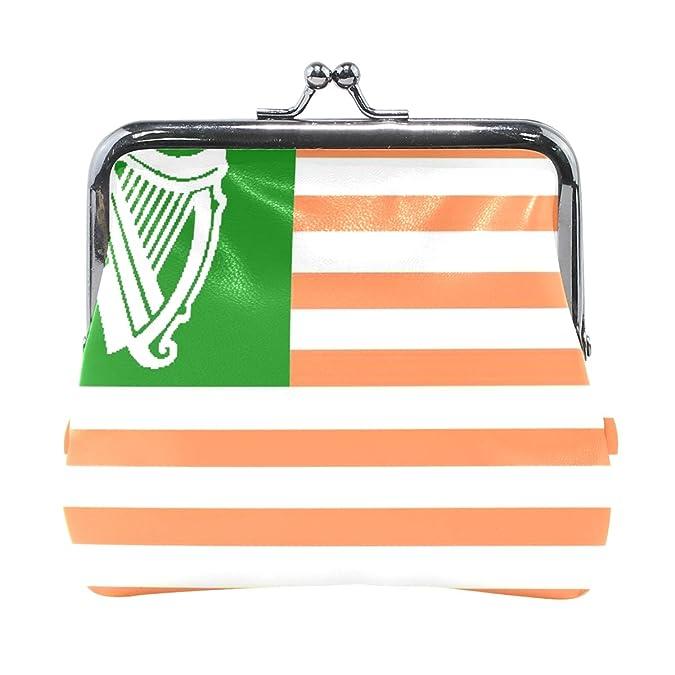 Amazon.com: Monedero de la galería de la bandera irlandesa ...