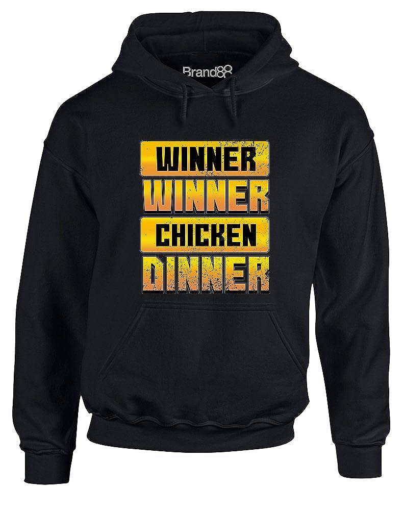 Chicken Dinner Brand88 Adults Hoodie