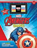 #10: Marvel's Avengers Chalkboard Shapes: Learn shapes with reusable chalkboard pages!