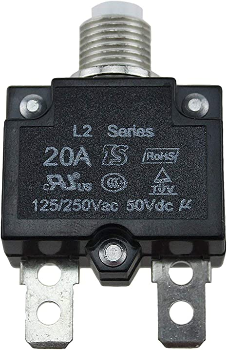 5a 10a 15a 20a 30a Circuit Breaker Waterproof Push Button Resettable Thermal Fuse Circuit Breaker Panel Mount Baumarkt