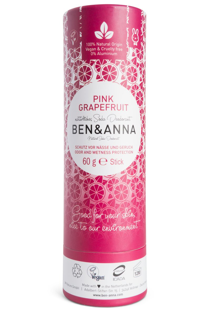 Ben & Anna Natural Soda Deodorant, Pink Grapefruit JM Nature GmbH BA22028
