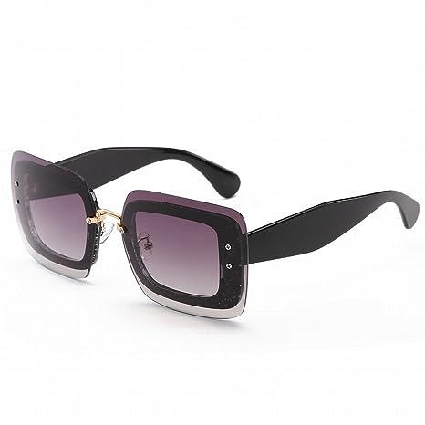 Gafas de Sol de la Tendencia de la Moda Caja Grande Retra ...