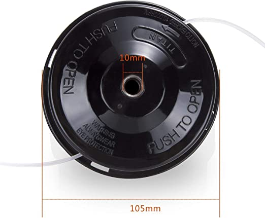 Amazon.com: SHERONE - Cortador de gasolina para cabeza ...