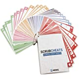 NRSNG Scrubcheats 56 Heavy Duty Laminated Nursing Reference Cards (4X6 Fits in Scrub Pocket) (MedSurg, Critical Care…