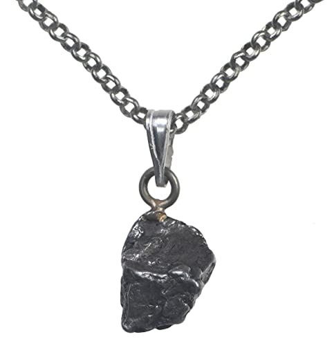Amazon meteorite necklace antique tone rolo chain 18 jewelry meteorite necklace antique tone rolo chain 18quot aloadofball Images