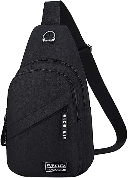 1PC Chest Bag Outdoor Sport Travel Shoulder Chest Sling Backpack Pouch For Phone