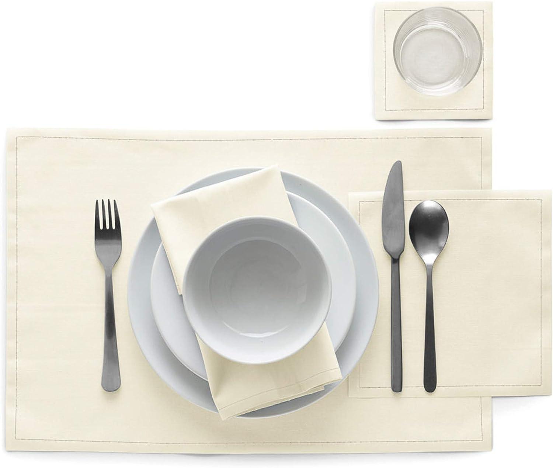 White 9 x 12 x 16 cm Cotton MYdrap Luncheon Napkins