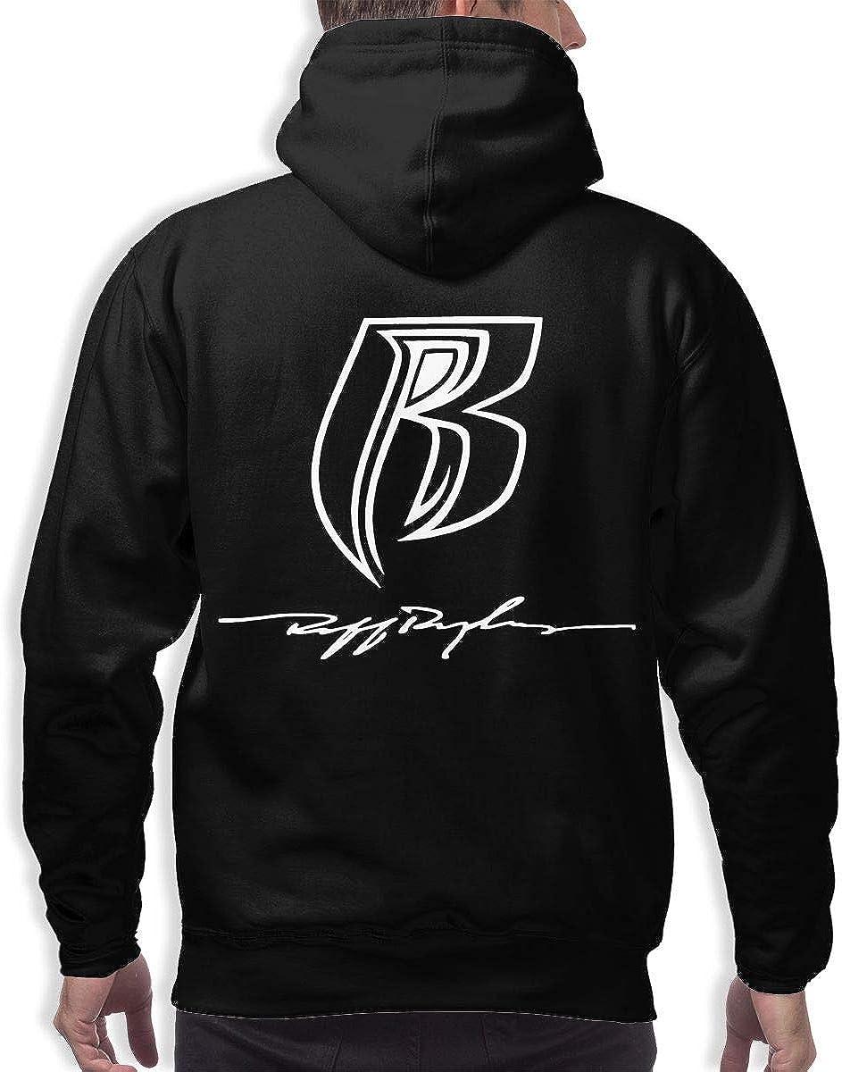 Ruff Ryders Classic 3D Printed Hip Hop Pullover Men Hooded Sweatshirt