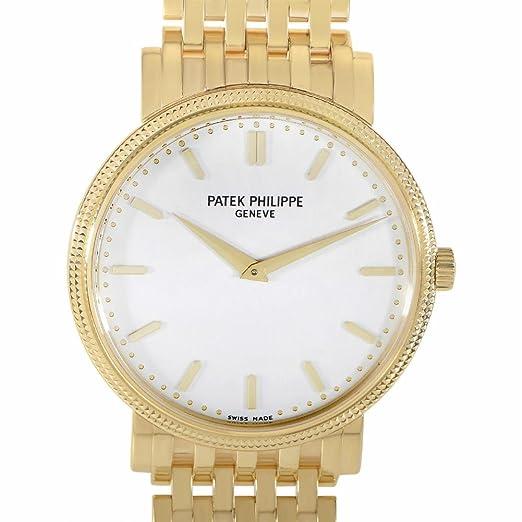 PATEK PHILIPPE CALATRAVA automatic-self-wind Mens Reloj 5120/1j-001 (Certificado) de segunda mano: Patek Philippe: Amazon.es: Relojes