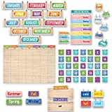 Creative Teaching Press. Upcycle Style Calendar Set Bulletin Board (7061) (Limited Edition)