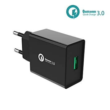 FLYHANA Cargador QC 3.0 USB,Quick Charge Pared, Cargador ...