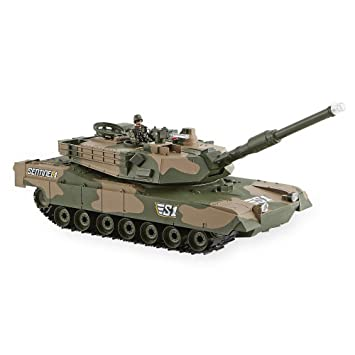 True Heroes Sentinel 1 Recoiling Battle Tank with 4 inch ...