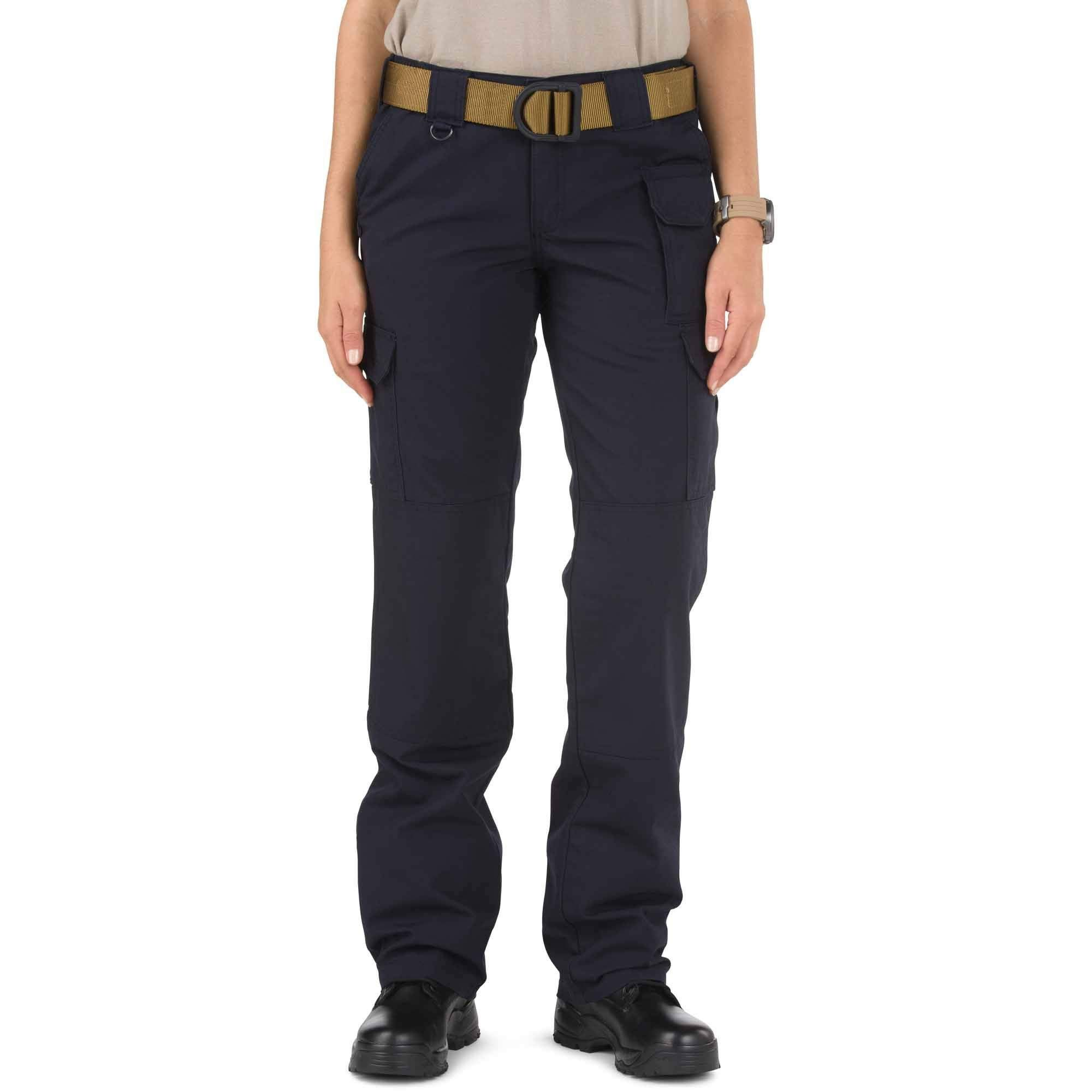 5.11 Tactical Women's Tactical Cargo Pants Cotton Canvas Fabric Fire Resistant Style 64358TAA
