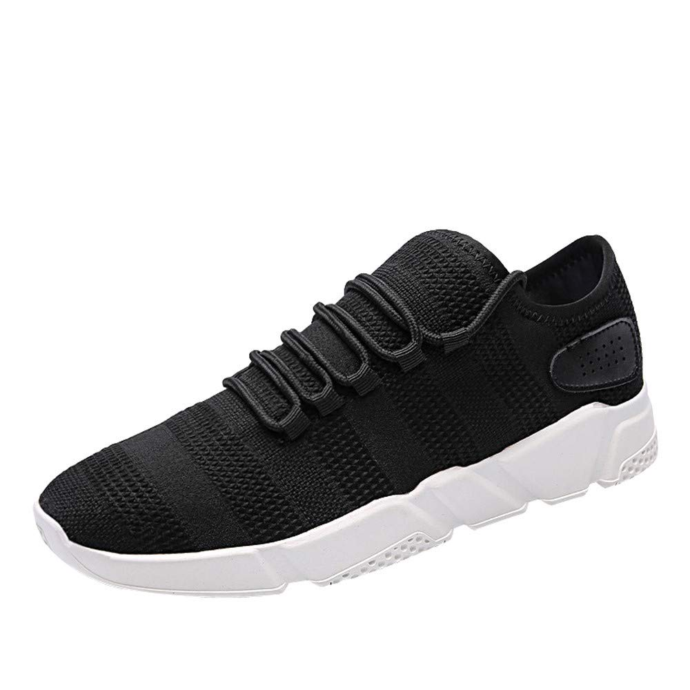 Femme Homme Chaussures de Sports Outdoor Chaussures de Running Respirantes Athl/étique Sneakers Fitness Chaussure de Course ZEZKT Baskets Hautes Mixte Adulte