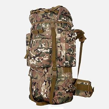 Tactical Camuflaje Militar Mochila Gran Asalto Mochila 80L Impermeable Bolsa De Caza Que Acampa Senderismo Outdoavelor TR: Amazon.es: Deportes y aire libre