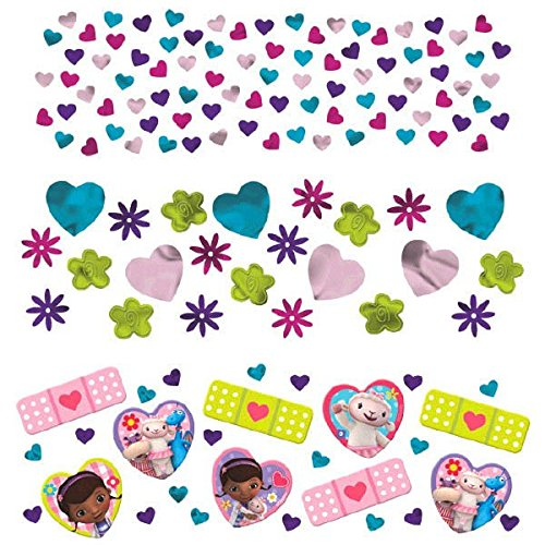 Doc McStuffins Confetti Birthday Party Value Pack Decoration (1 Piece), Multi Color, 1.2 oz.