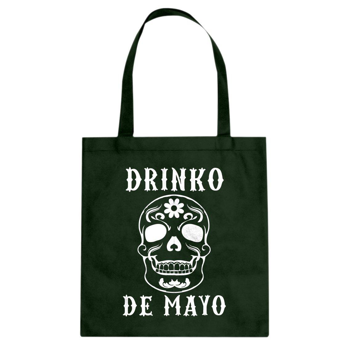 Indica Plateau Drinko de Mayo Cotton Canvas Tote Bag