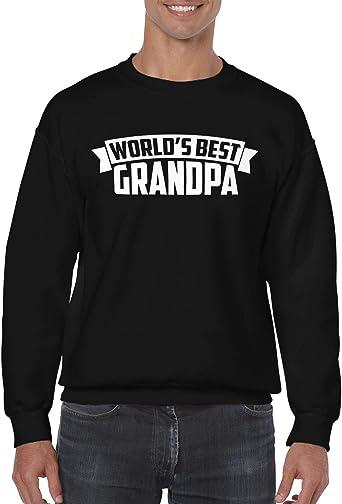 Boys Plain Long Sleeve Crew Neck Cotton Best Buckin Grandpa Ever Tee for Youth