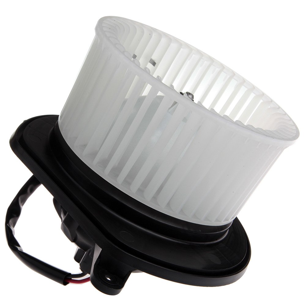 HVAC plastic Heater Blower Motor w//Fan Cage ECCPP Front for 2006-2010 Jeep Commander //2006-2010 Jeep Grand Cherokee