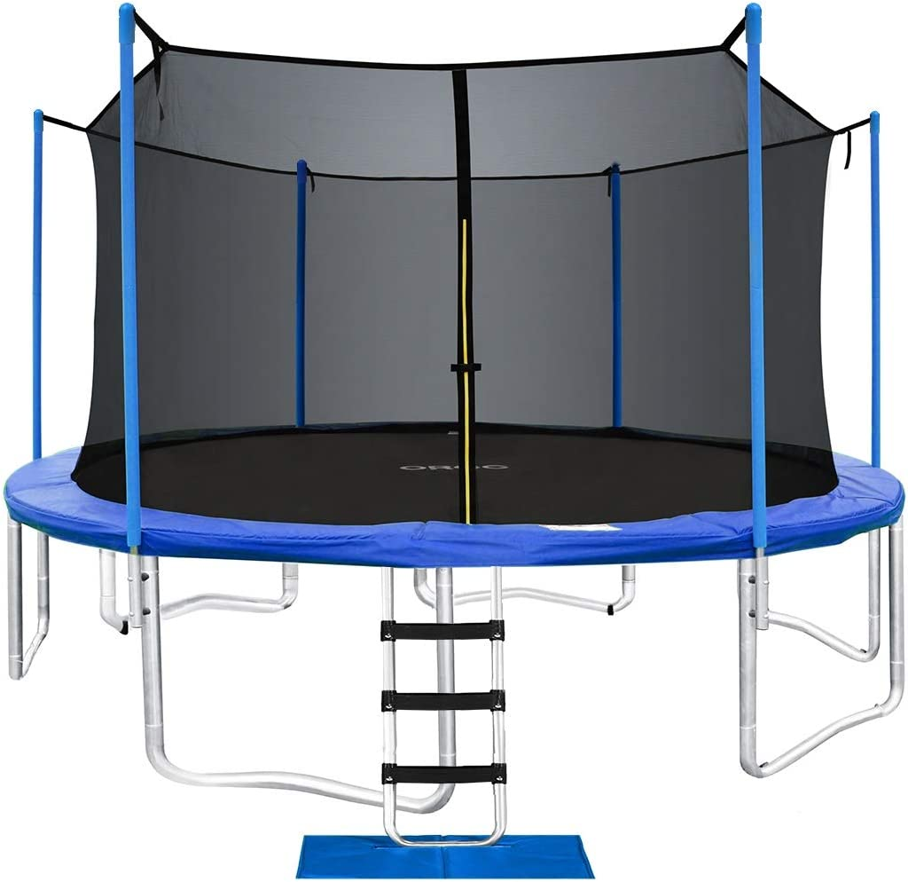 ORCC 15 14 12 10FT Trampoline 400 LBS Weight Capacity
