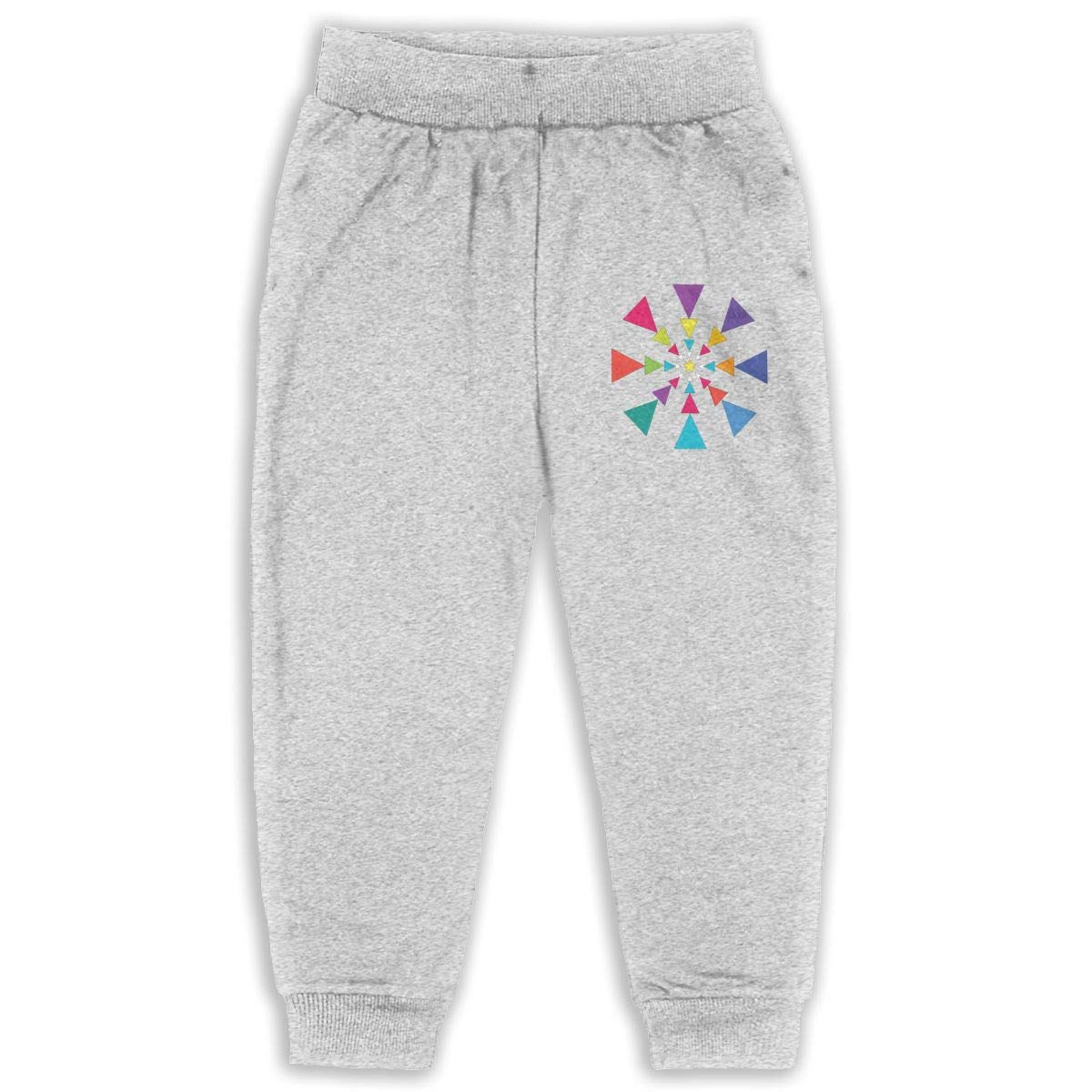 Laoyaotequ Triangle Dance Kids Cotton Sweatpants,Jogger Long Jersey Sweatpants