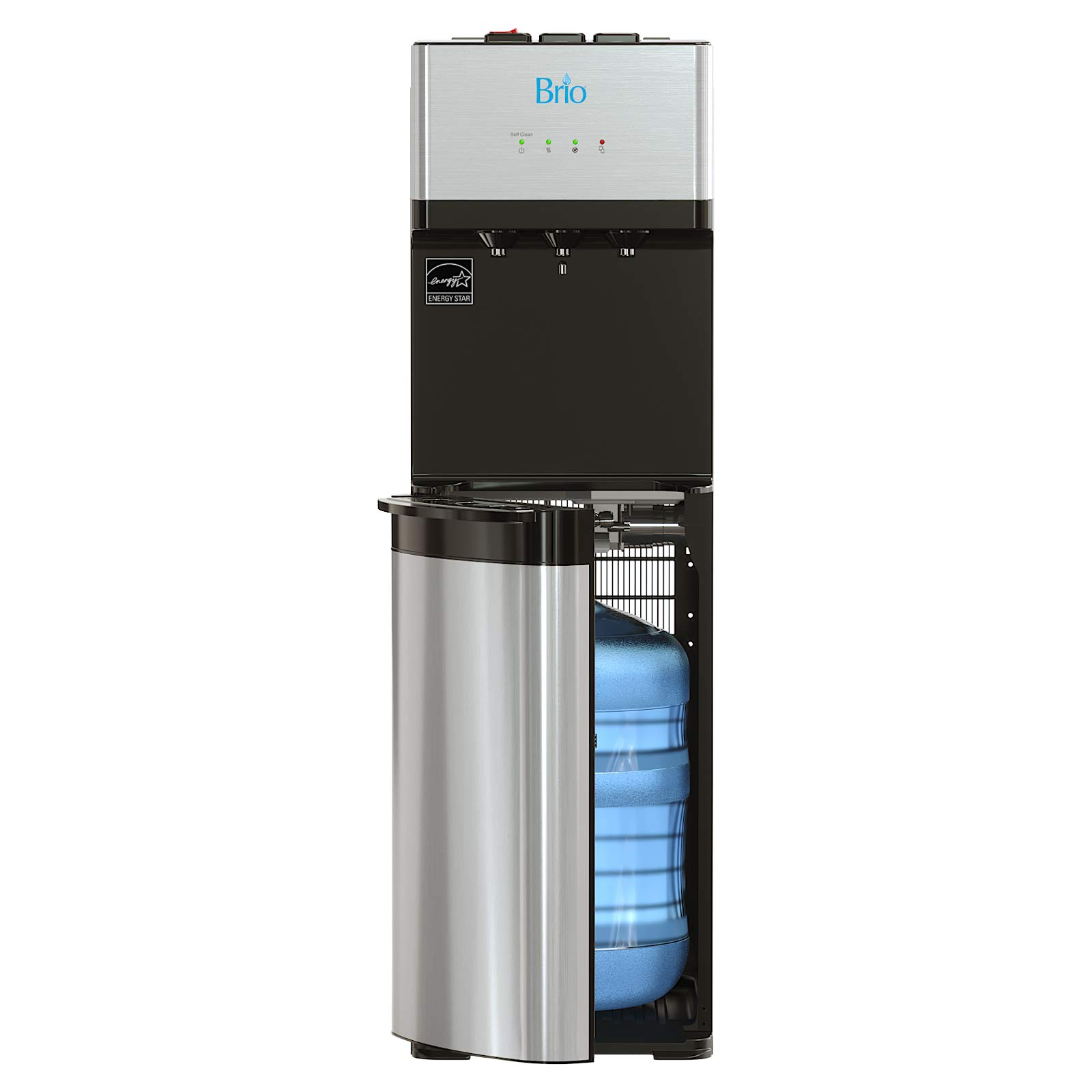 Brio Self Cleaning Bottom Loading Water Cooler Water Dispenser – Limited Edition – 3 Temperature Settings – Hot, Cold & Cool Water – UL/Energy Star Approved