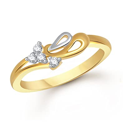 gold ring en global primagold shop item pinky rakuten finger prima japan store one pure little diamond wedding woman market yellow rings date