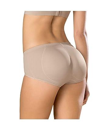 ec4039769 Leonisa Instant Butt Lift Padded Panty Boyshort Magic Benefit for Women  Beige