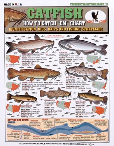 Tightline Publications Catfish How to Catch # 13 Fishing-Equipment from Tightline Publications
