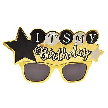 OoB 2 Piezas Prop Divertido Creativo Cumpleaños Gafas ...
