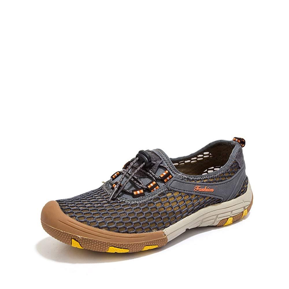 ZHRUI Licht Quick Dry Schuhe für Männer Breathable Non Slip Bequeme Wasser Schuhe (Farbe   Grün, Größe   EU 43) B07HMG7DM2 Sport- & Outdoorschuhe Jahresendverkauf