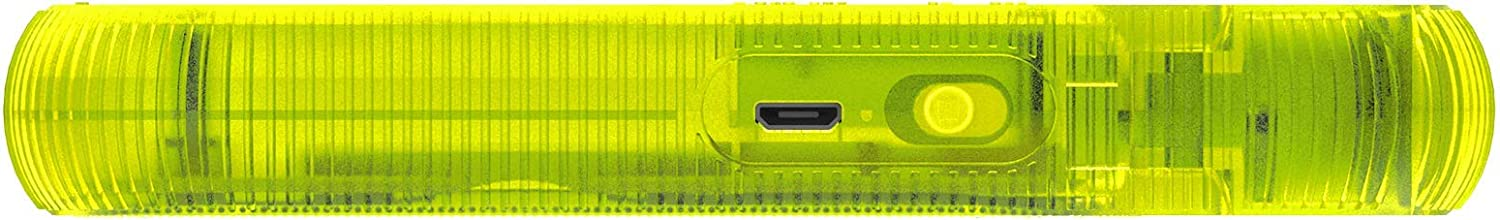 Hi-Fi Jelly Series Wireless Neon Yellow Hook Speakers