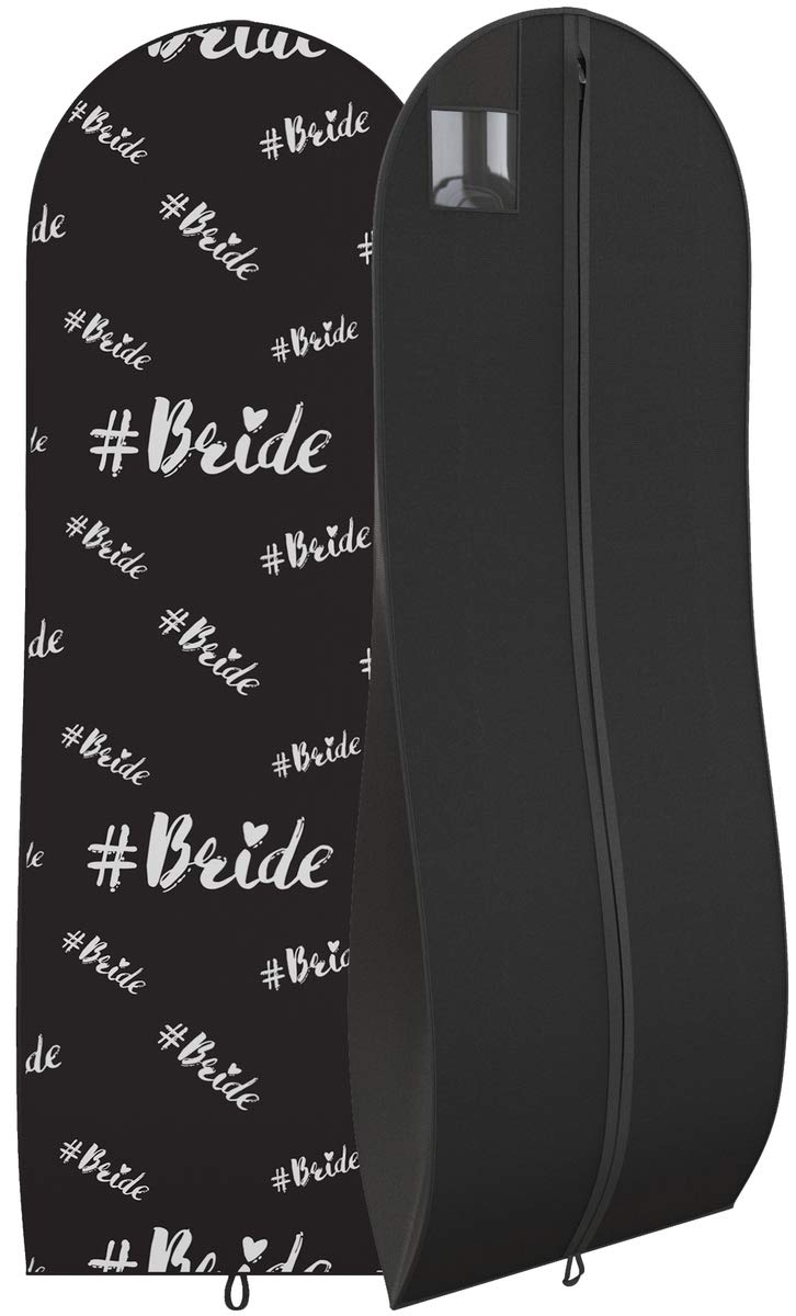 Amazon Gusseted Bride Gown Garment Bag For Womens Bridal