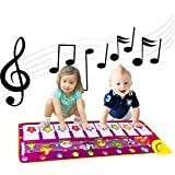 ALITREND Alfombra Musical para Piano de bebé, electrónica, con Teclado de Animales, para niños, niñas, Juguetes…