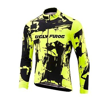 Uglyfrog Maillot Ciclismo Invierno Hombre Bicicleta Conjunto de ...