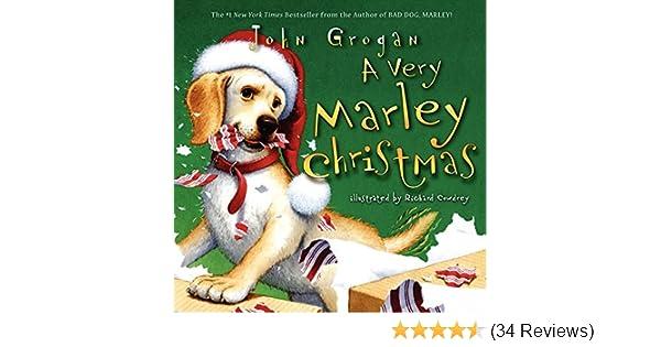 A very marley christmas john grogan richard cowdrey amazon books fandeluxe Image collections