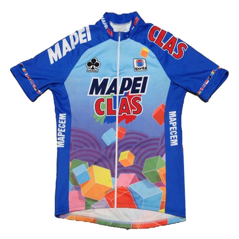uonoメンズショートスリーブチームサイクリングジャージージャケット自転車バイクシャツ B01DLMF486 5X-Large|Jersey 4 Jersey 4 5X-Large