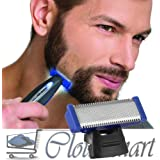 Cloudmart All In One Hyper Advanced Smart Rechageable Razor Beard Trimmer For Precision Gromming, Trims, Edges And Shaves With Built-In-Light And 3 Trimming Combs