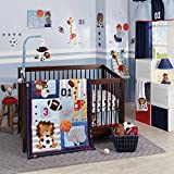 lambs and ivy baby bedding bumper - Lambs & Ivy Future All-Star Bedding Set