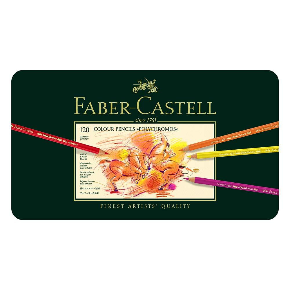 Faber Castell Polychromos Set x 120 colores [Importados] xsr
