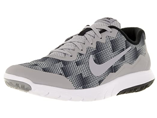 Nike FLEX EXPERIENCE RN 4 COOL GREY/BLACK/WHITE 9.5 *BOX ONLY