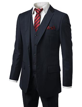 f1212db14 MONDAYSUIT Men s Modern Fit 2 or 3 Piece Suit Blazer Jacket Tux Vest ...