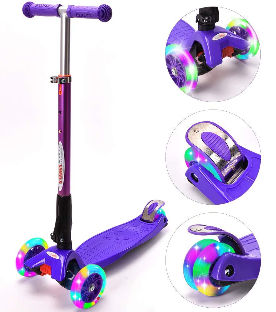 ChromeWheels Scooters Kids - Patinete 4 Ruedas Ajustables ...