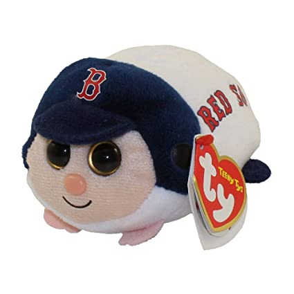 Image Unavailable. Image not available for. Color  Ty Boston Red Sox MLB  Beanie Ballz Teeny d318960b3233