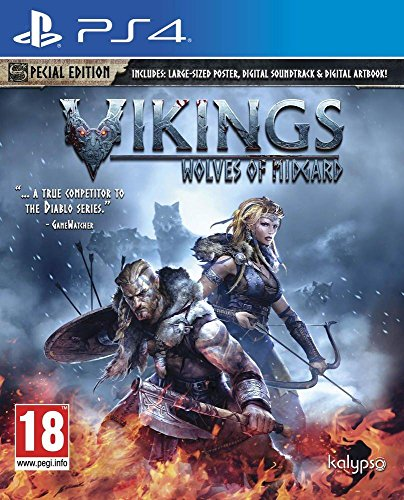 Vikings - Wolves of Midgard (PS4): Amazon co uk: PC & Video Games
